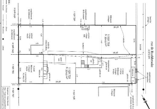 Triplex property for sale Nuns Island - 3032g