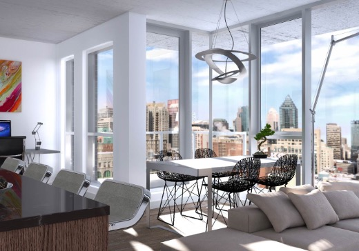 Condo Sold Ville-Marie (Montreal) - 1220n